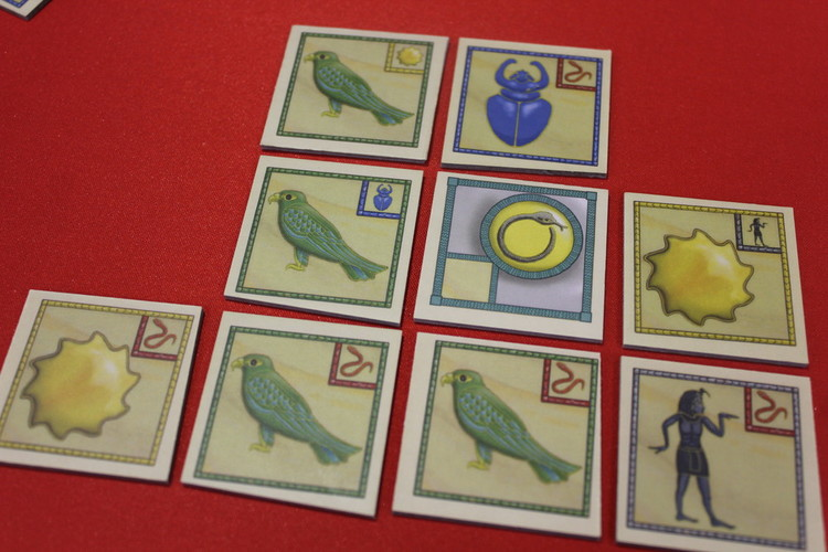 Ominoes Hieroglyphs Tiles