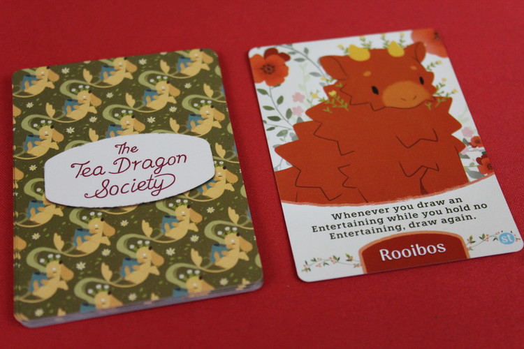 The Tea Dragon Society Card Game Setup