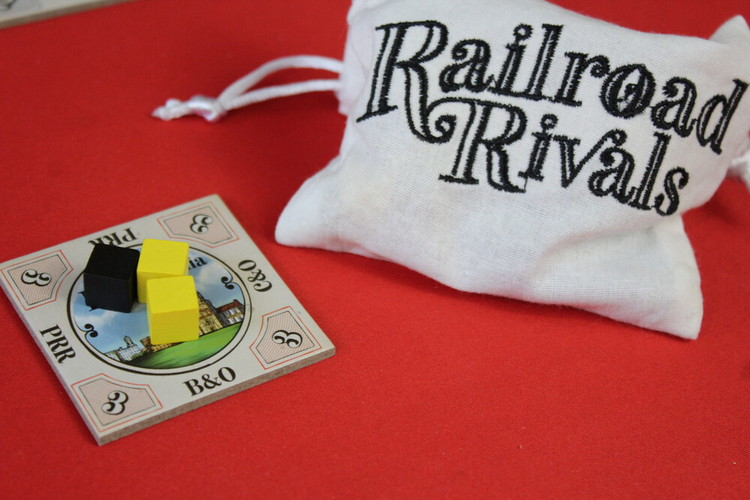 Railroad Rivals Tile