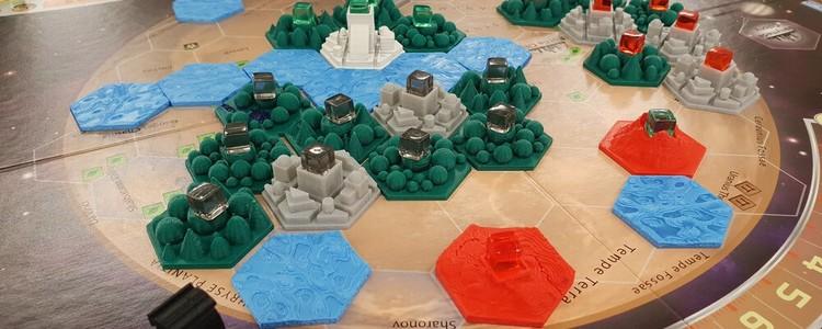 Parallax terraforming mars