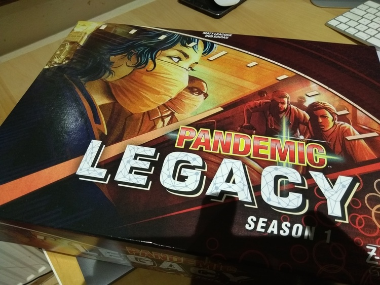 Why I hate co-op games but love Pandemic Legacy