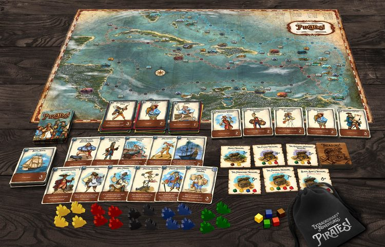 GenCon 2019, Indianapolis - Essential Releases Pirates