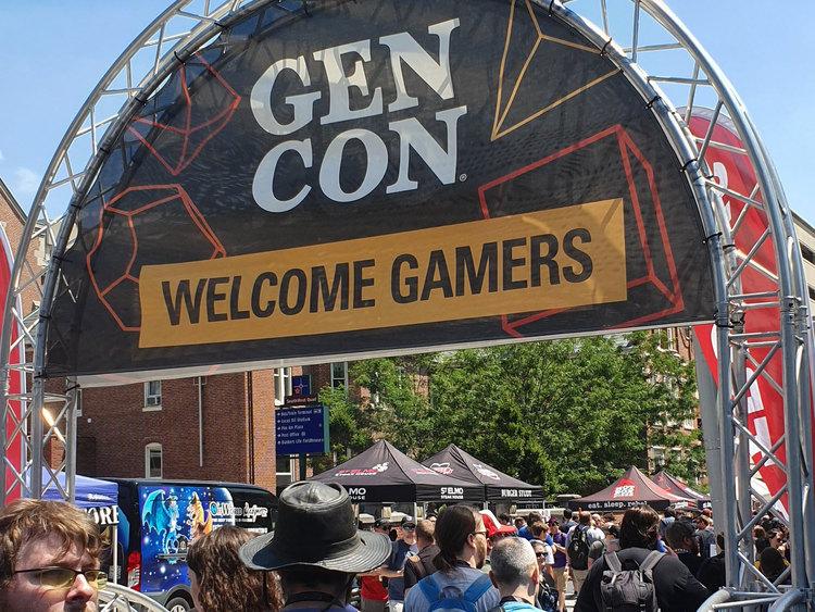 GenCon, Indianapolis 2019 Gamers