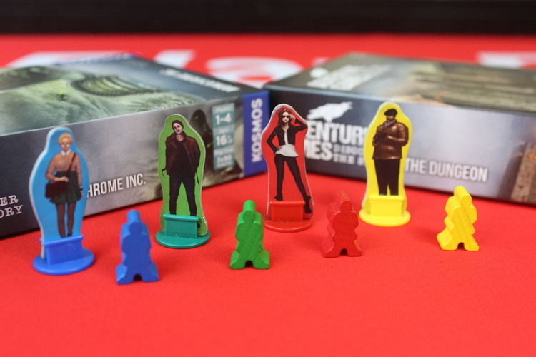 Adventure Game series Meeples
