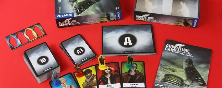 Parallax adventure games components