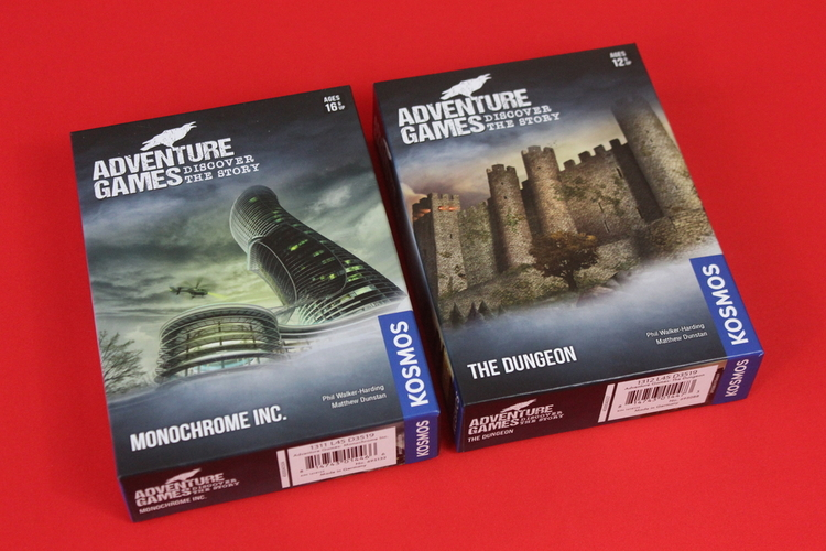 Adventure Game series Box