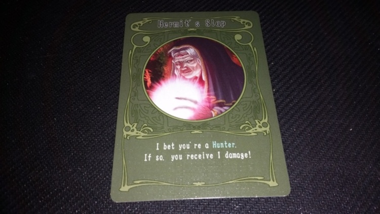 Shadow Hunters Greencard