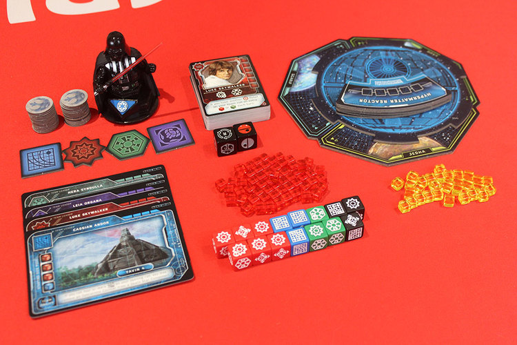 Dark Star Rising Components