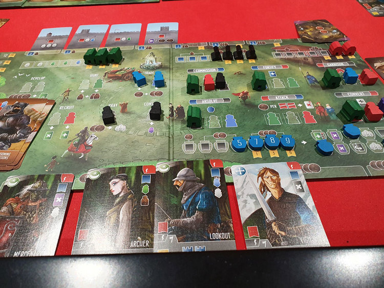 What we've played. Kingdom