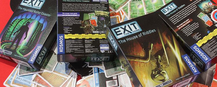 Parallax exit games
