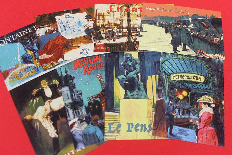 Paris: La Cite de la Lumiere Postcards