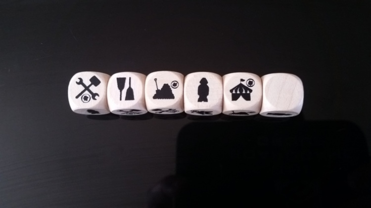 Steam Park Dice