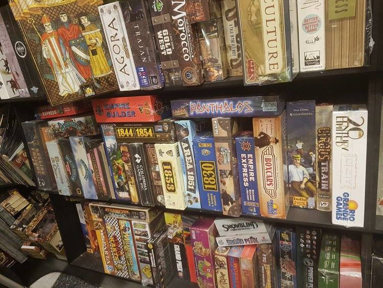 All of the train games, well some of them.