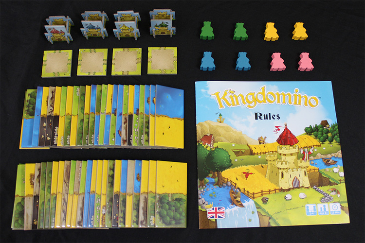 Kingdomino Components