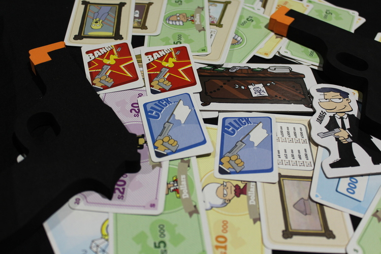 5 for the 5th - Party Games Cashnguns