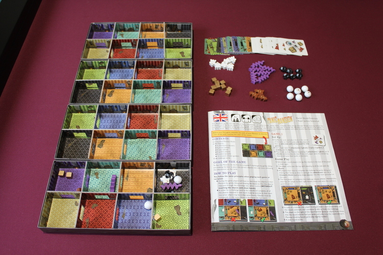 Panic Mansion Components