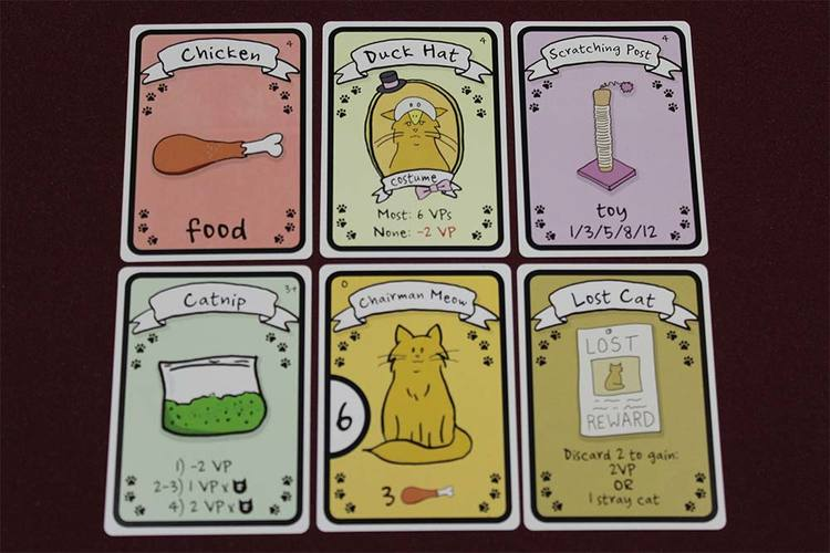Cat Lady Cards