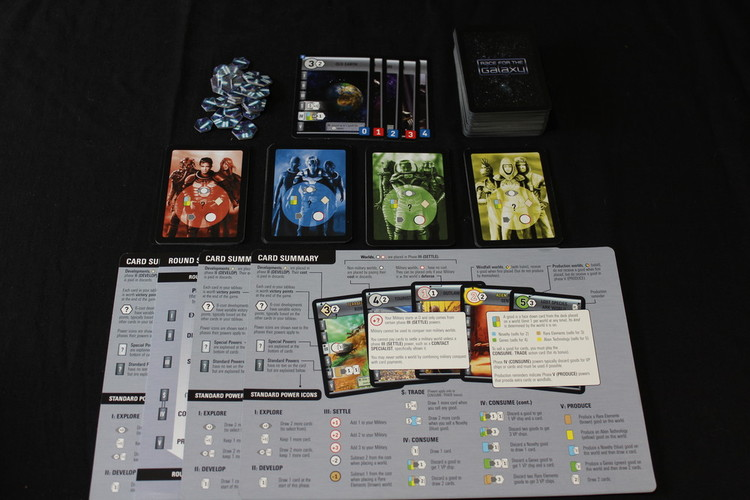 Race For The Galaxy Components