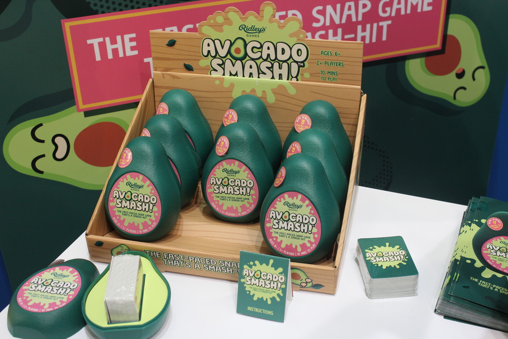 Avocado Smash - We love this great packaging! Fun little game from Riley's Games