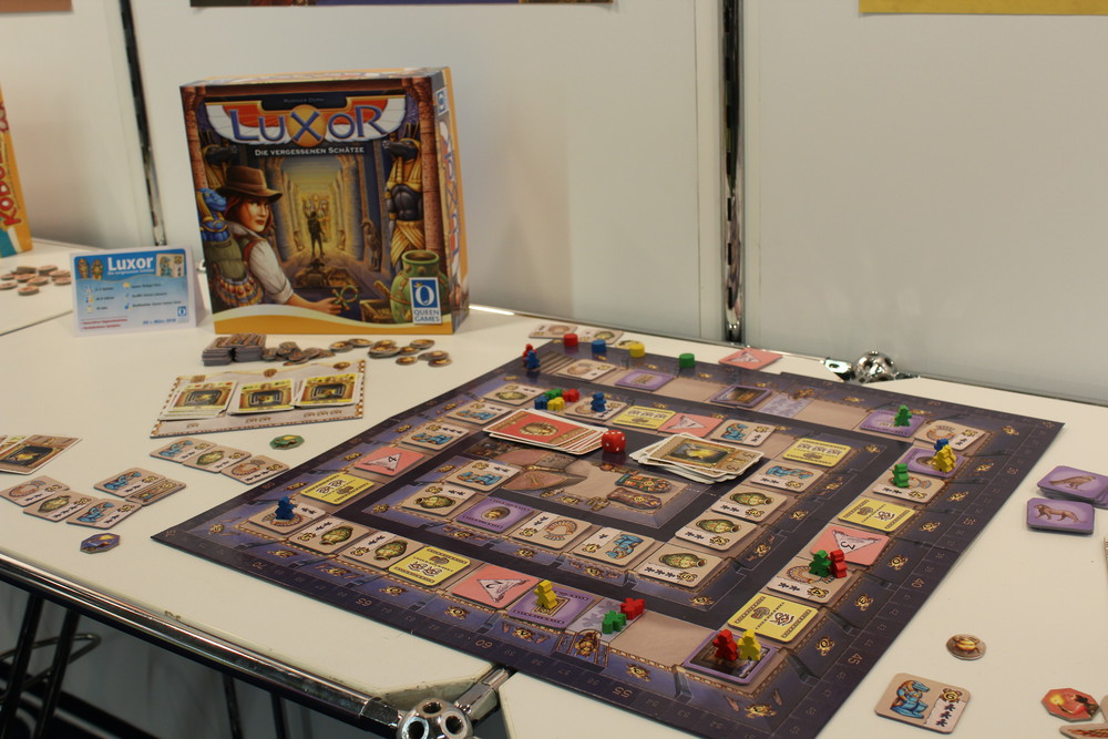 Luxor - Coming soon from Queens Games.