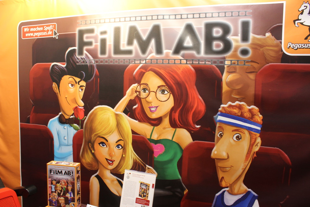 Film AB! - Exciting looking new title from Pegasus Spiele