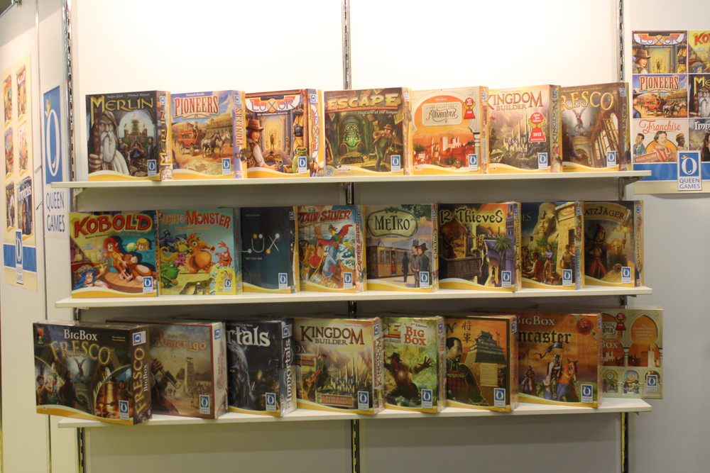 Queens Games - Just some of the great games available from Queens Games.