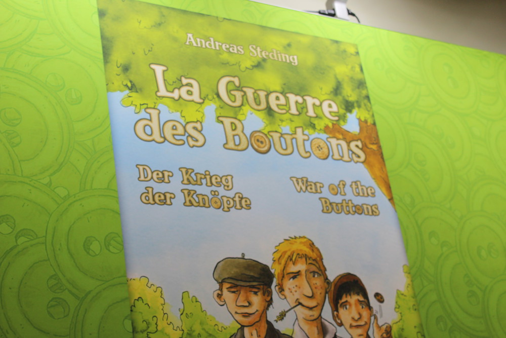 La Guerre des Boutons - Highly anticipated strategic dice placement game based on the famous French novel from Blackfire Games.