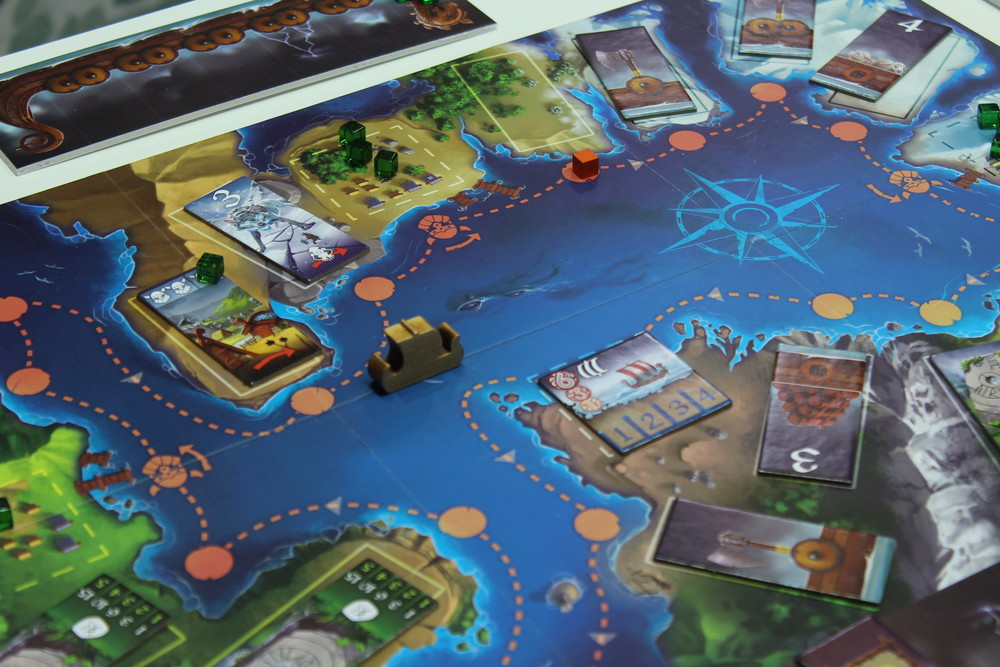 Raids - An interesting Viking plundering game from Iello.