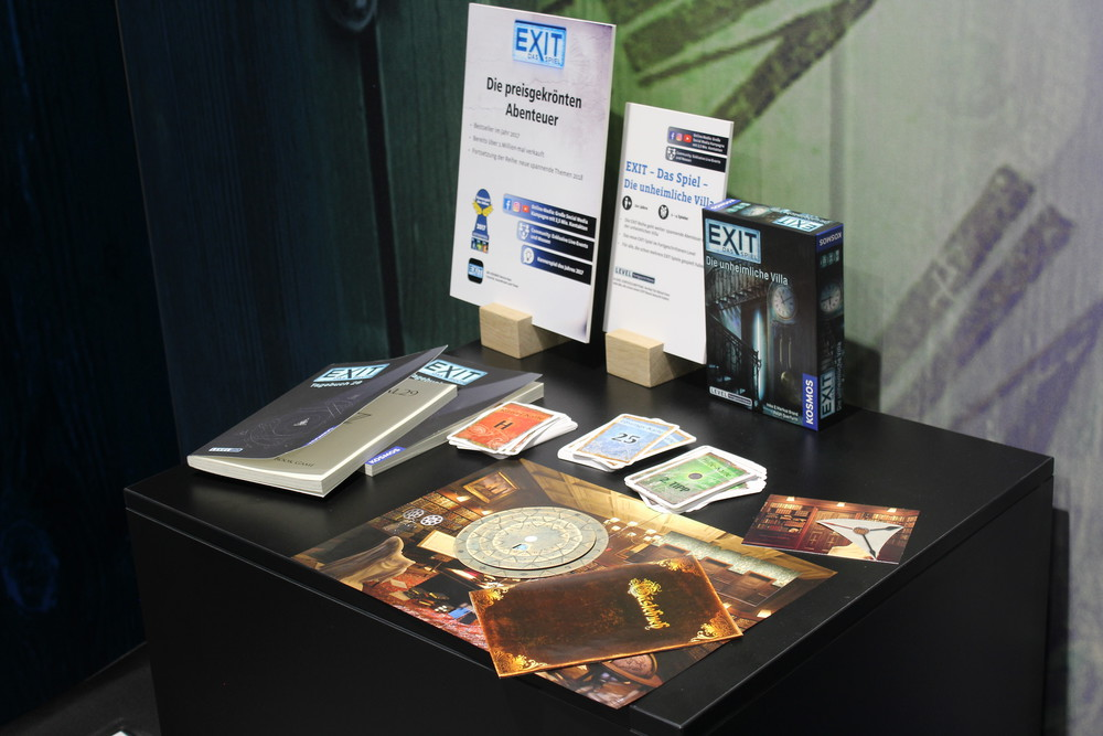 Exit Games - Two new Exit games we haven't seen, sadly both only in German at the moment