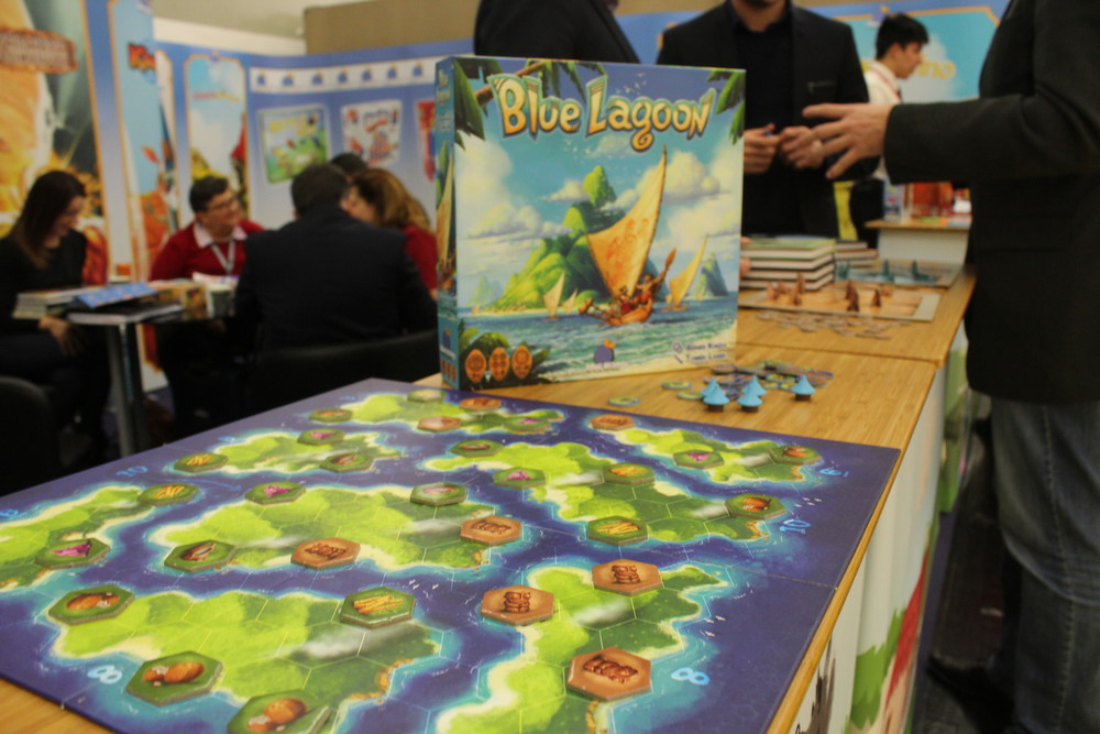 Blue Lagoon - Exciting new Reiner Knizia being released by Blue Orange games, to be released at Essen Spiel 2018