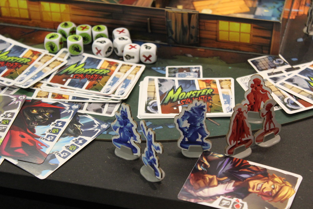 Monster Slaughter - Newer versions of the cards and cardboard figures this time.