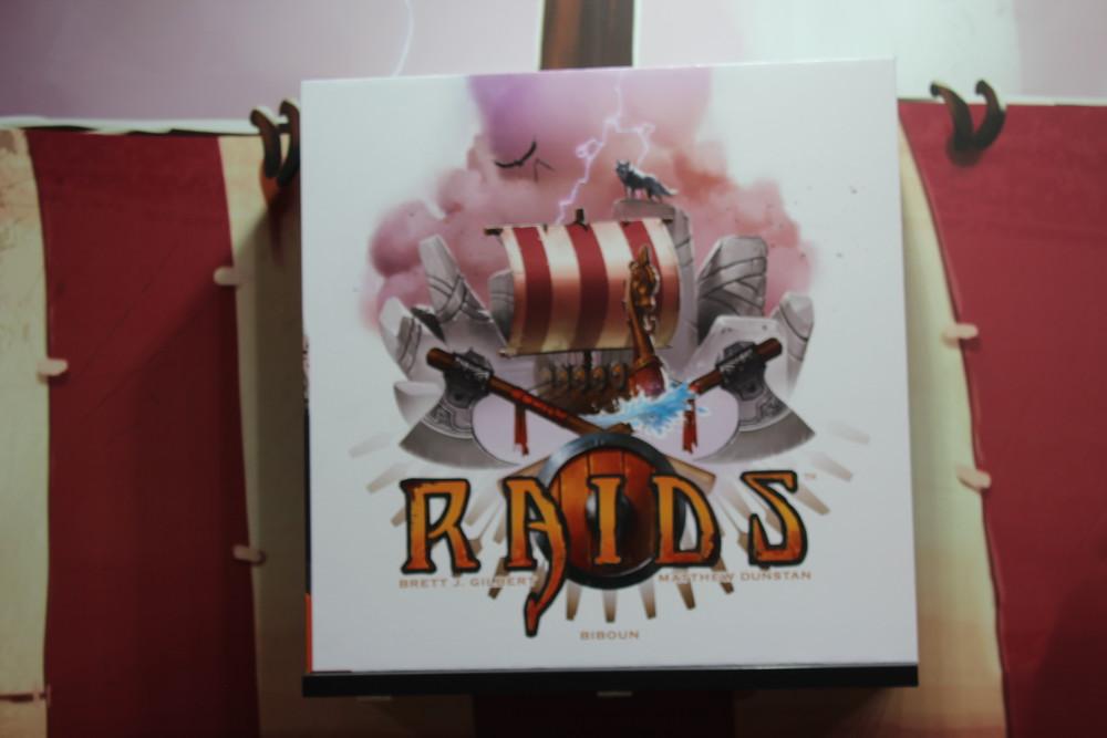 Raids - Mock up box art.