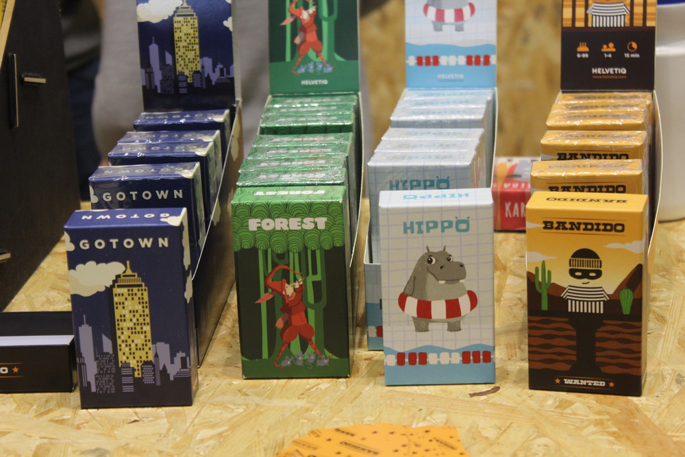 Lot of new titles - Pocket sized fun from Helvetiqu