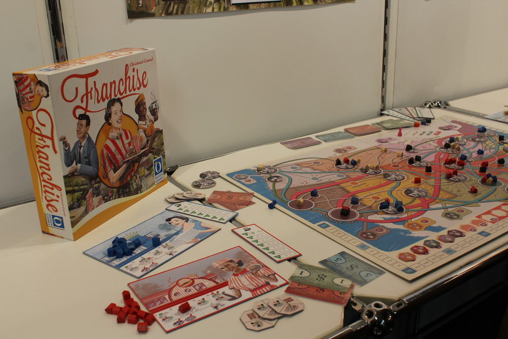 Franchise - New upcoming release from Queens Games.
