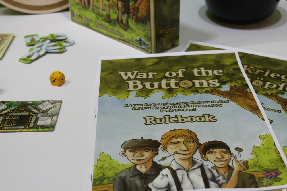 La Guerre des Boutons - War of the Buttons mock up rulebook in English.