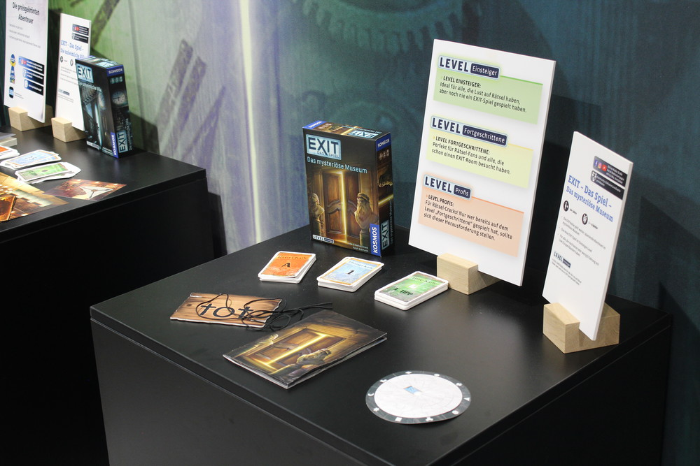 Exit Games - German Version of The Mysterious Museum