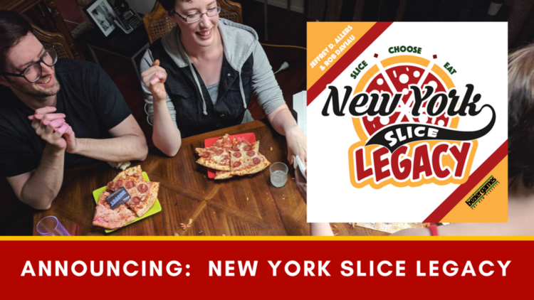 New York Slice Legacy from Bezier Games