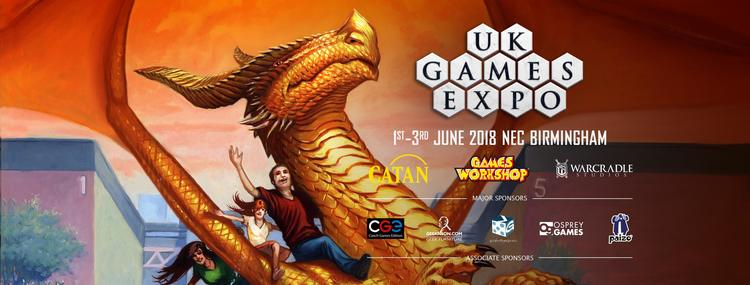 UK Games Expo 2018 Exhibitors