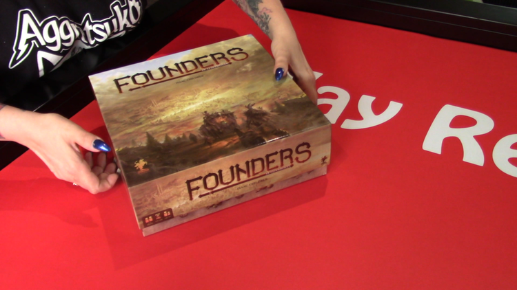 Founders of Gloomhaven Unboxing