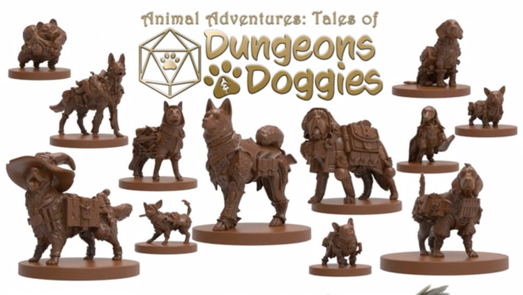 Kickstarter Round-up - July Doggies