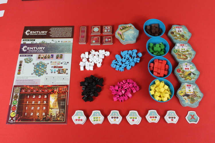 Full century eastern wonders components
