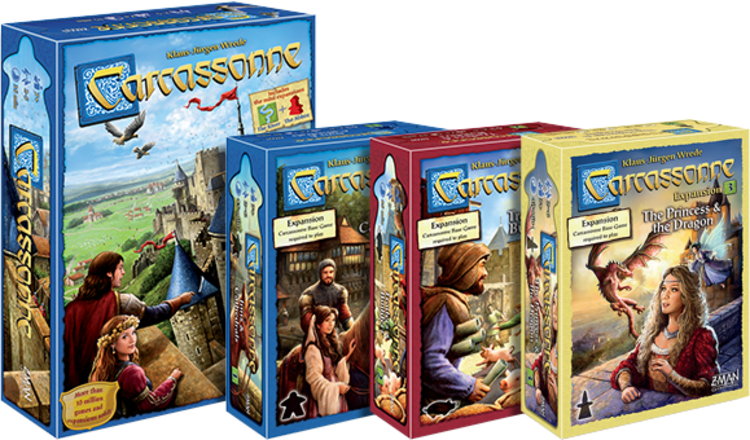 Carcassonne by Hans I'm Gluck / Z-Man
