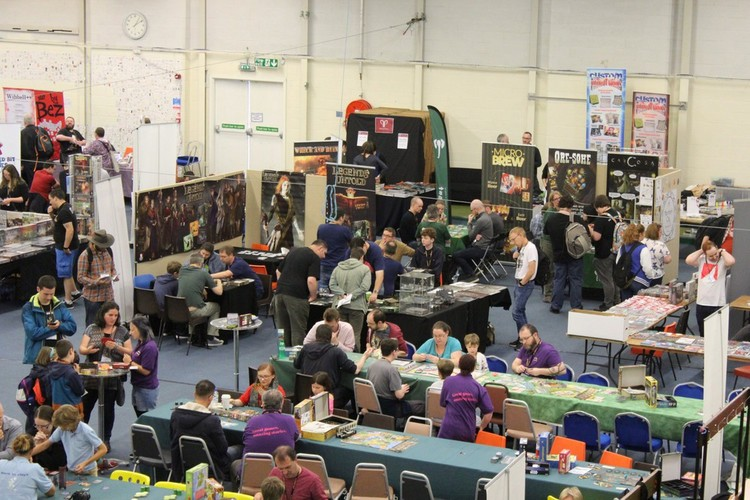 Tabletop Scotland 2018 Hall